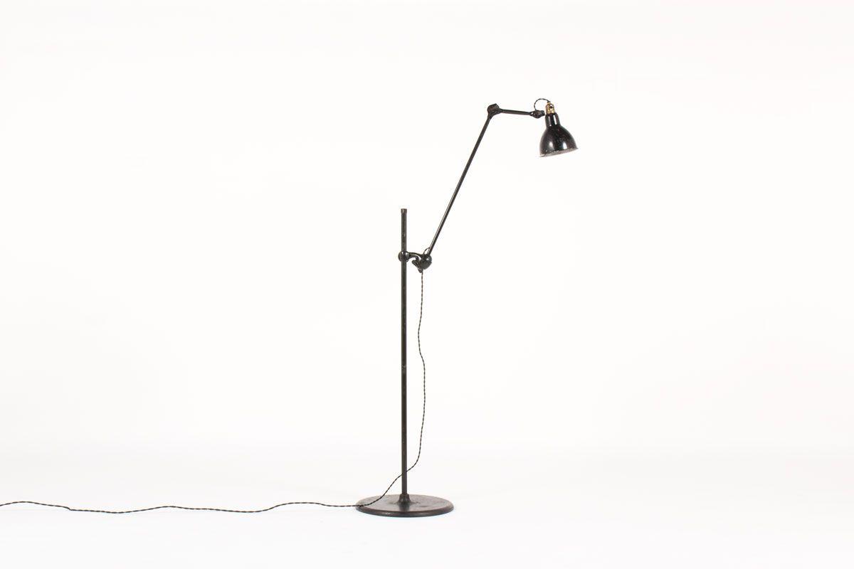 215 Floor Lamp by Bernard Albin Gras for Ravel Clamart, 1930s for ...