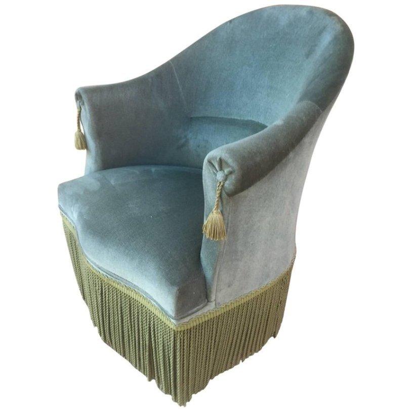 gr ner sessel 1940er bei pamono kaufen. Black Bedroom Furniture Sets. Home Design Ideas