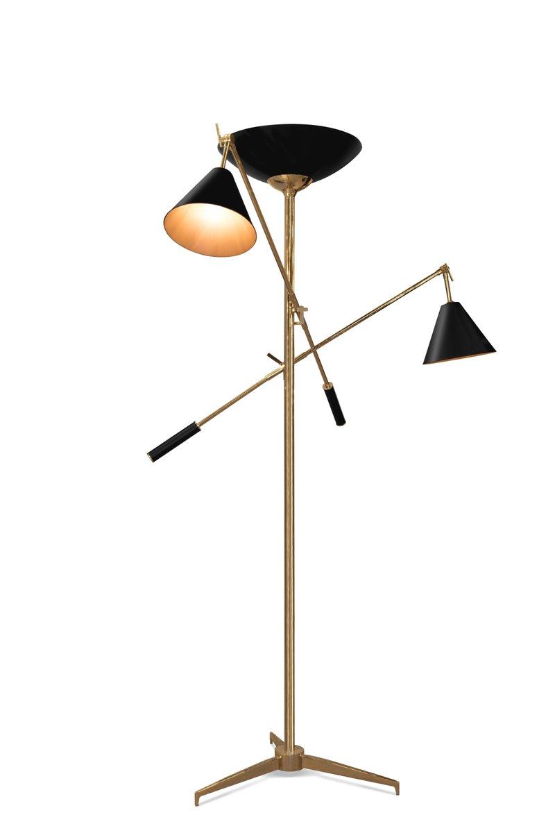 Torchiere Stehlampe von Covet Paris