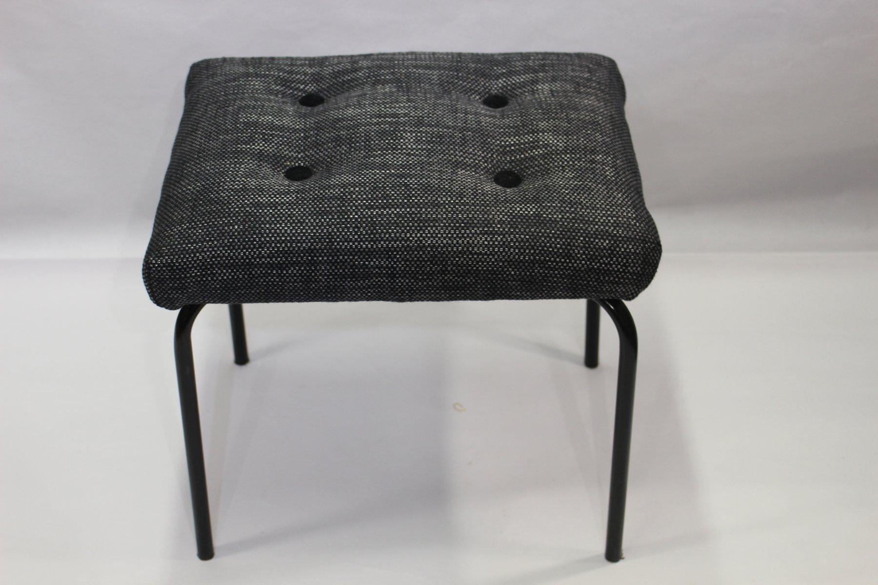 Sgabello grigio anni 60 in vendita su pamono