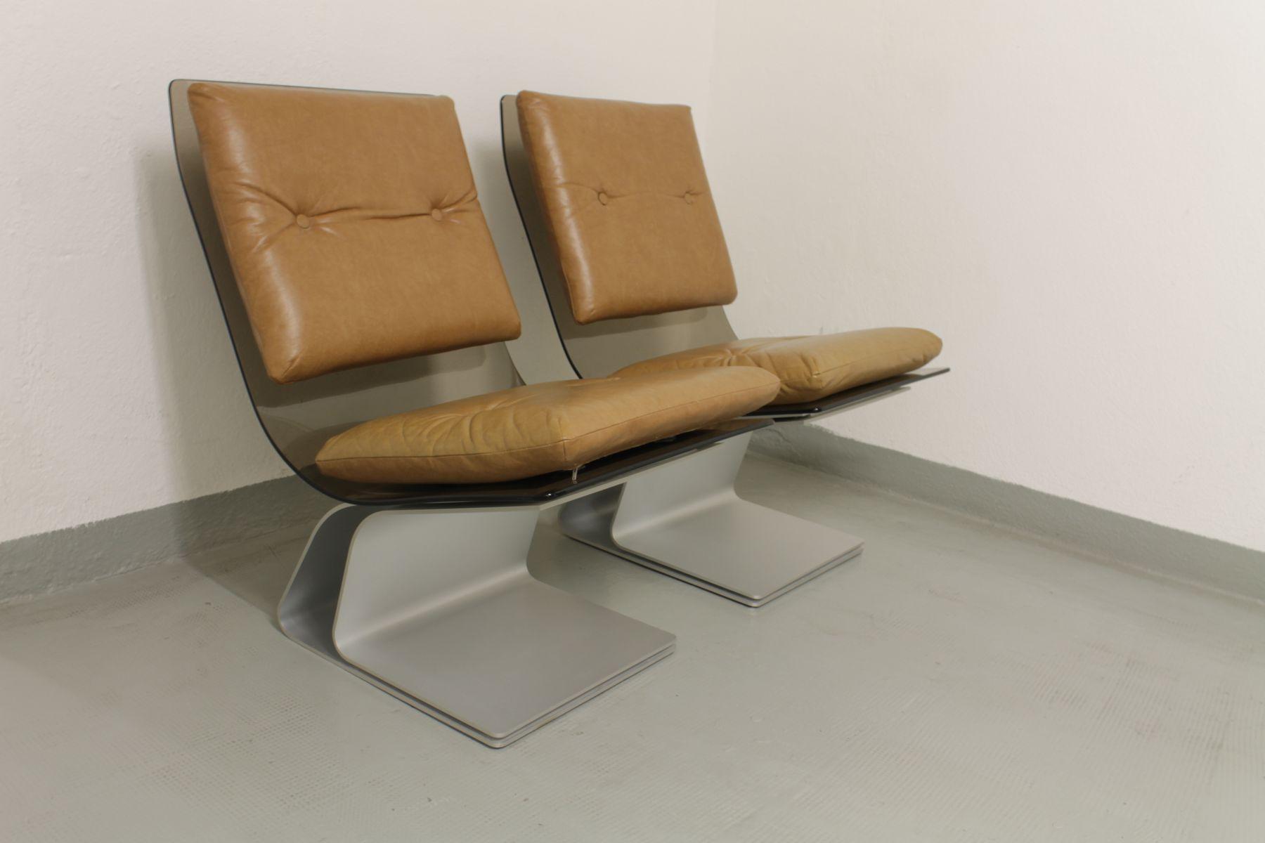 Sessel von Maison Jansen, 1970er, 2er Set
