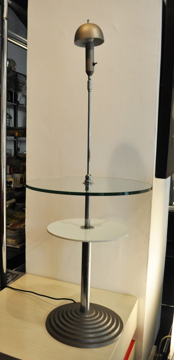 Italienischer Tisch mit integrierter Lampe von Franco Raggi & Daniela ...