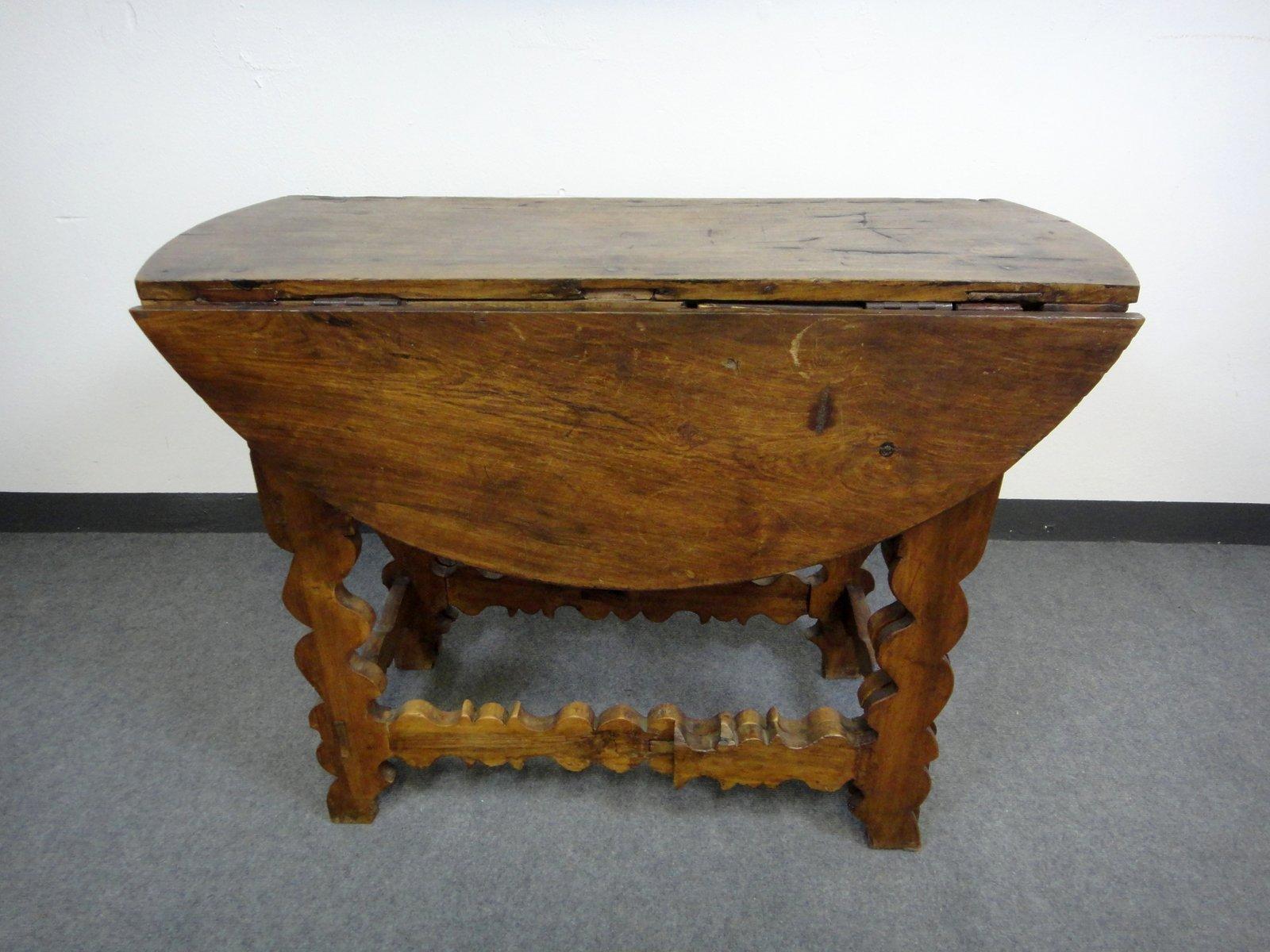 Antique 15th Century Italian Walnut Table
