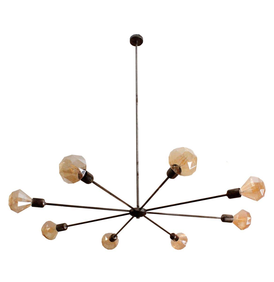 Industrielle Koyu Deckenlampe von Juanma Lizana