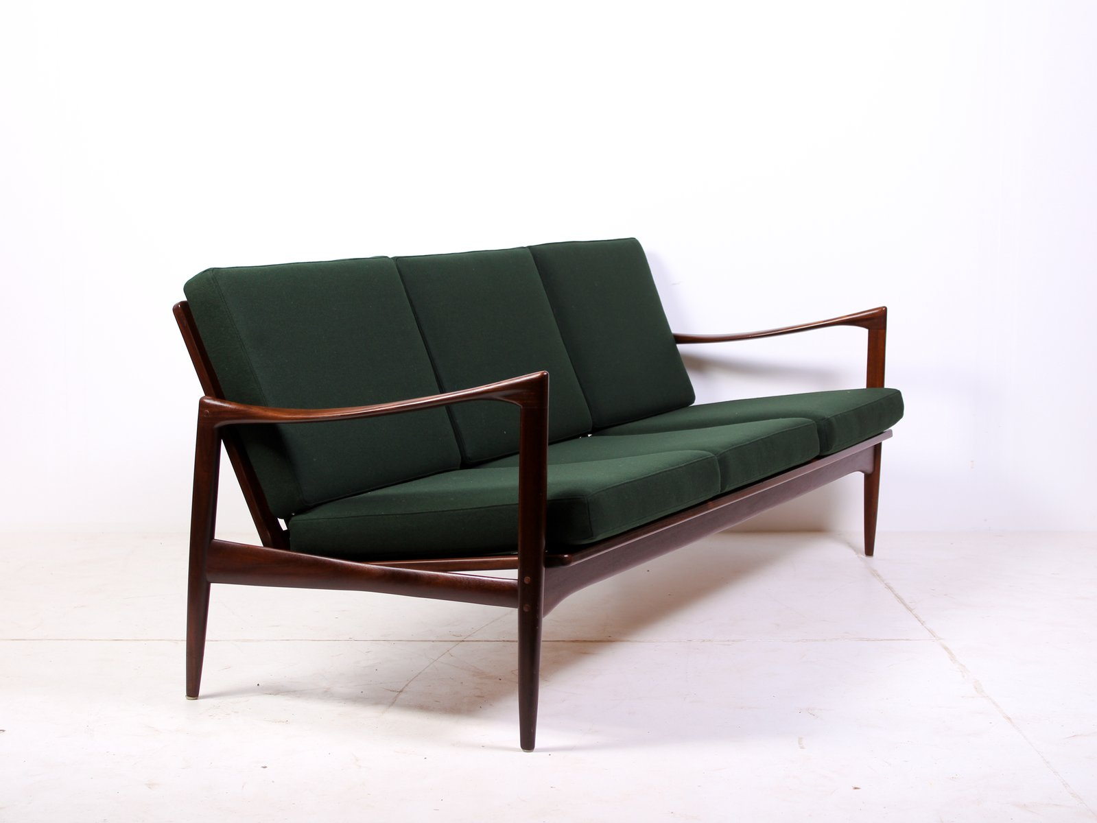 Mid Century Kandidaten Sofa Lounge Chair By Ib Kofod Ln For Ope