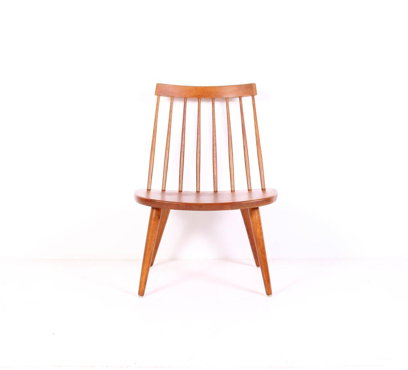 Mid century eichenholz sibbo stuhl von yngve ekstr m f r stolab bei pamono kaufen - Mid century stuhl ...