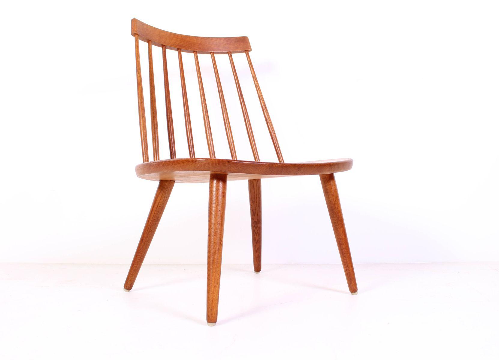 mid century eichenholz sibbo stuhl von yngve ekstr m f r stolab bei pamono kaufen. Black Bedroom Furniture Sets. Home Design Ideas