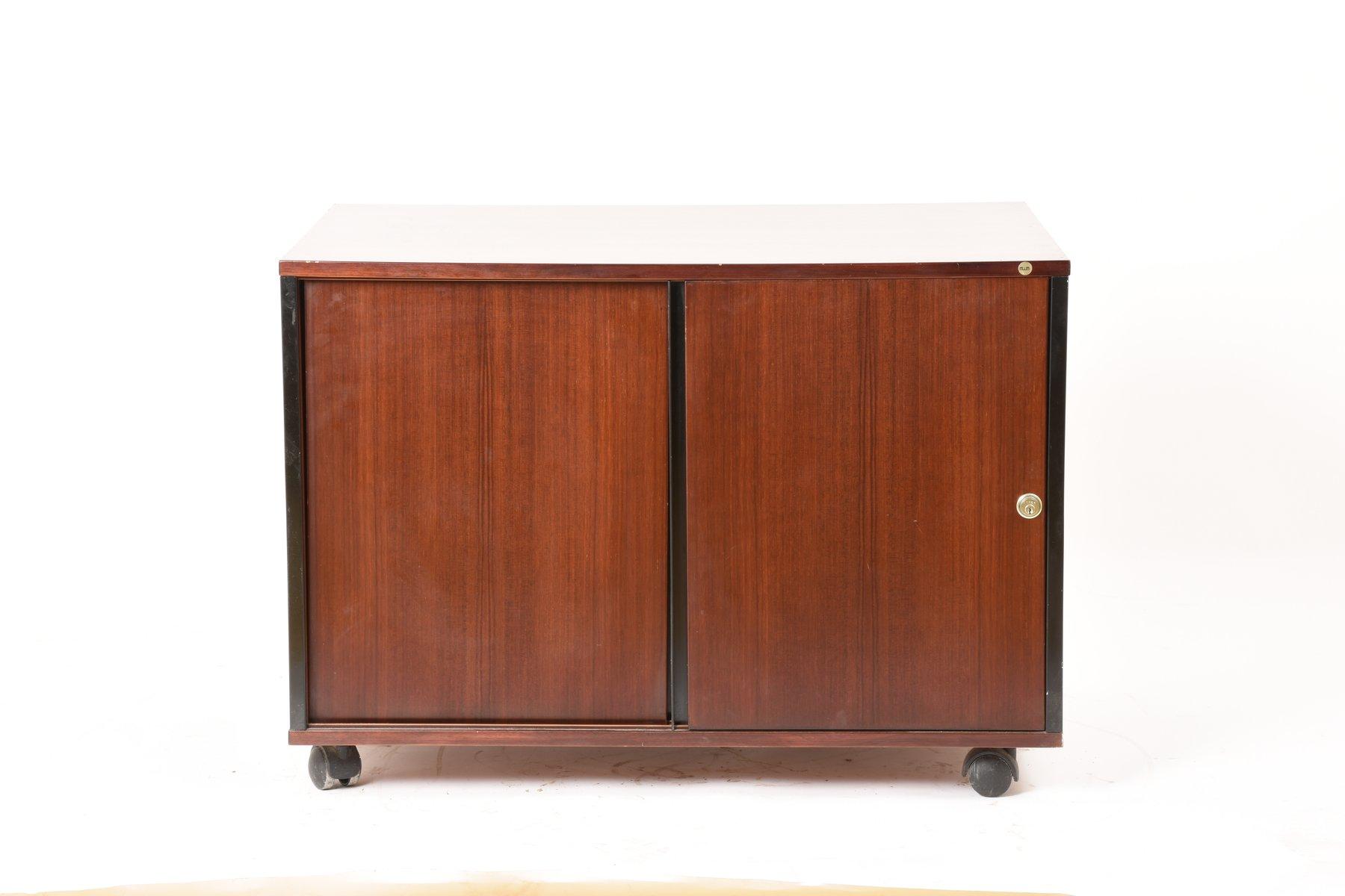 palisander sideboard auf rollen von ico luisa parisi f r mim 1960er bei pamono kaufen. Black Bedroom Furniture Sets. Home Design Ideas