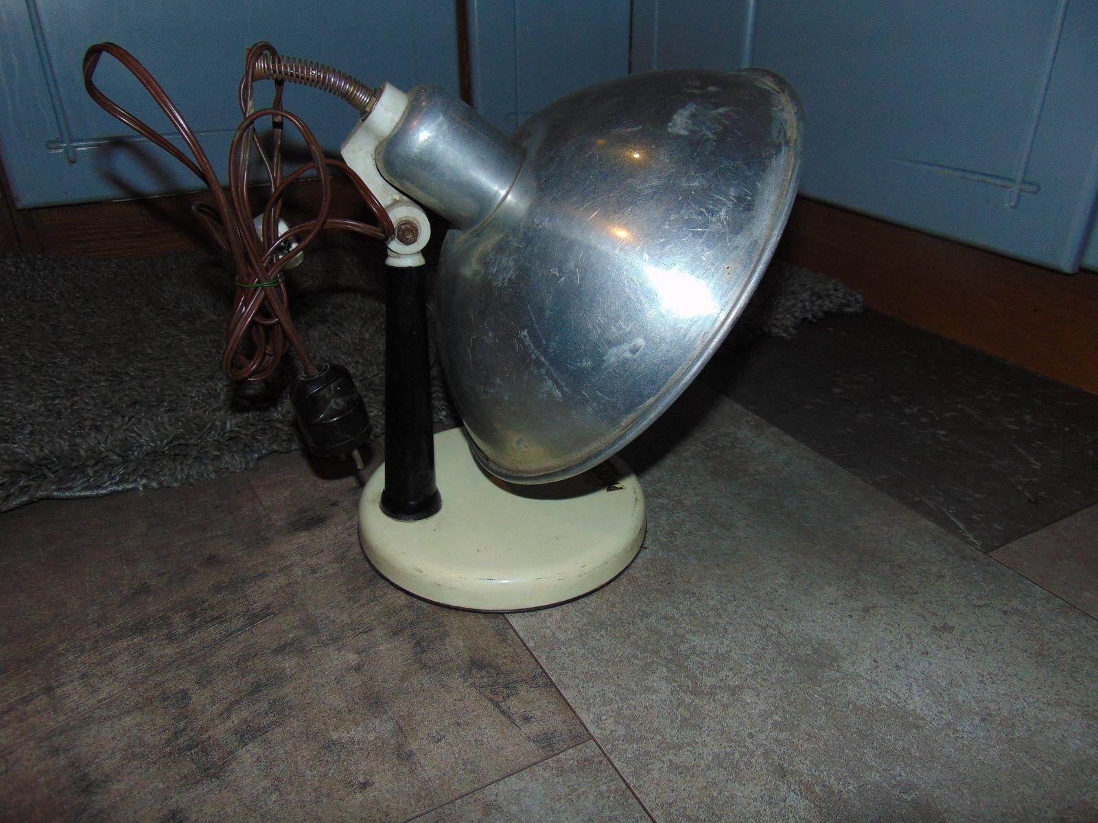 Österreichische industrielle Lampe von Profundus, 1950er