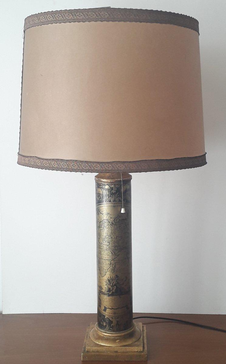 Italienische Vintage Tischlampe, 1950er