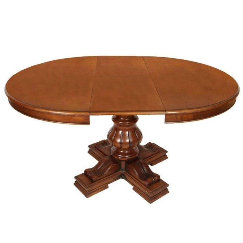 ausziehbarer runder vintage tisch von michele bonciani bei pamono kaufen. Black Bedroom Furniture Sets. Home Design Ideas