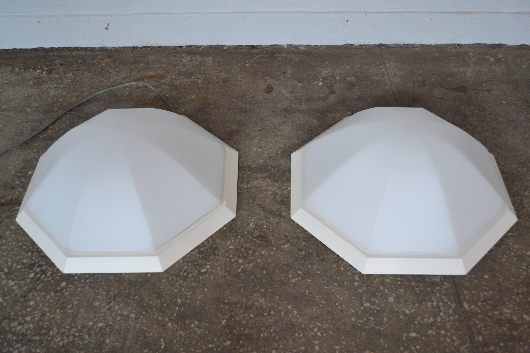 Deckenlampen von Limburg, 1970er, 2er Set