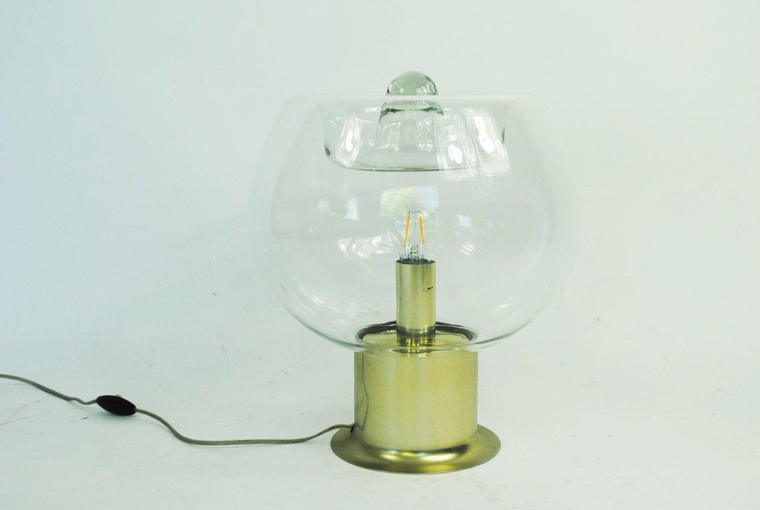 Große Tischlampe von Doria Leuchten, 1970er