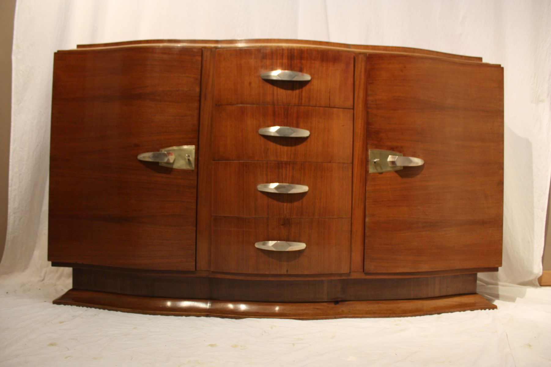Art Deco Rosewood Buffet, 1930s for sale at Pamono