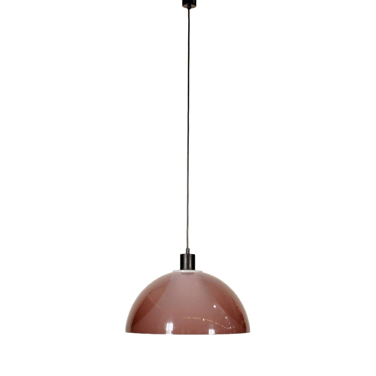Italienische Deckenlampe aus Methacrylat, 1960er