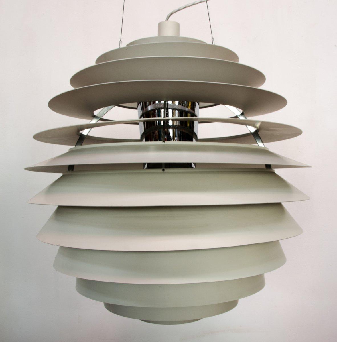 PH Louvre Lampe von Poul Henningsen für Poulsen, 1970er