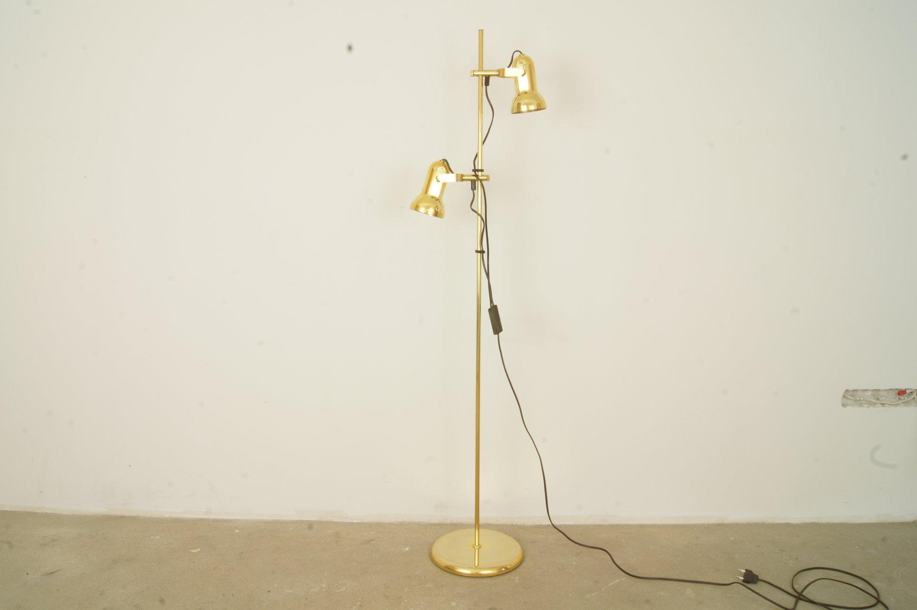Deutsche Vintage Stehlampe, 1970er