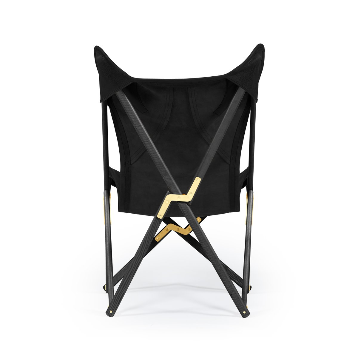 schwarzer telami tripolina leder stuhl von telami bei pamono kaufen. Black Bedroom Furniture Sets. Home Design Ideas