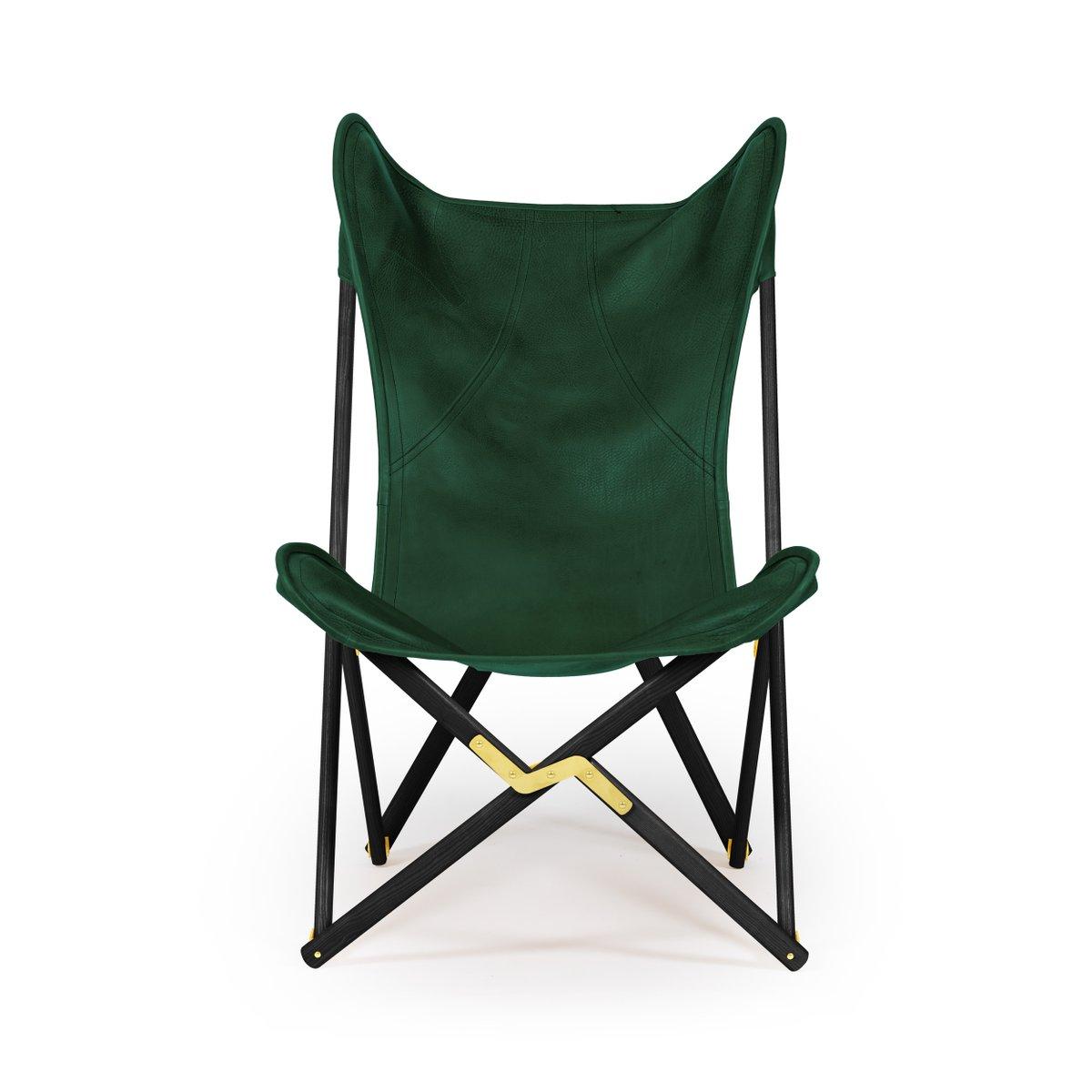 gr ner leder telami tripolina stuhl von telami bei pamono kaufen. Black Bedroom Furniture Sets. Home Design Ideas