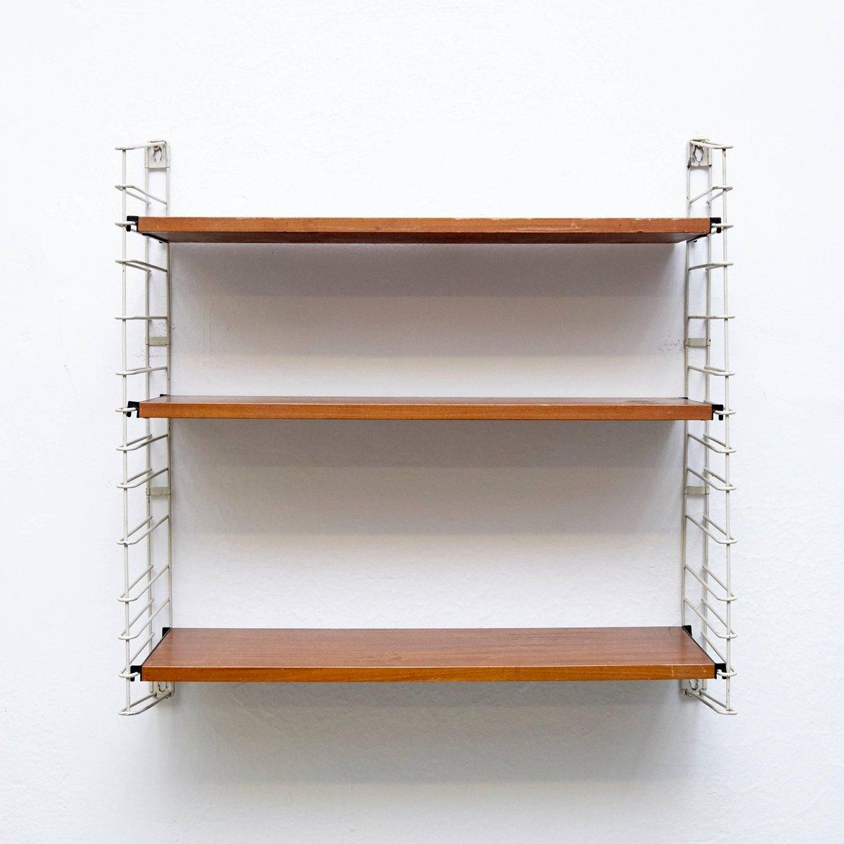 Modular Wall Hanging Shelf By Adriaan Dekker For Tomado 1960s