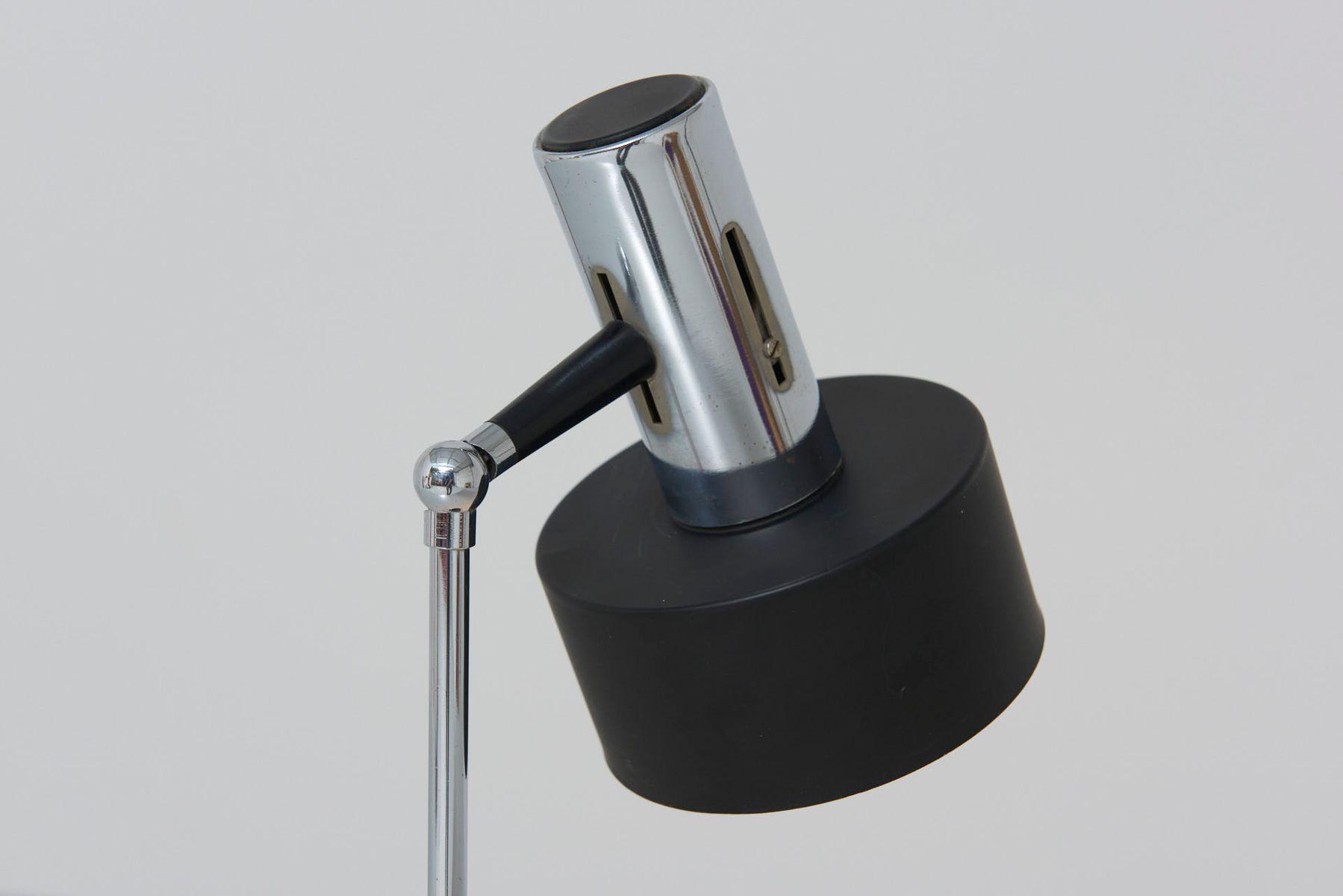 tischlampe mit zylindrischem schirm 1960er bei pamono kaufen. Black Bedroom Furniture Sets. Home Design Ideas