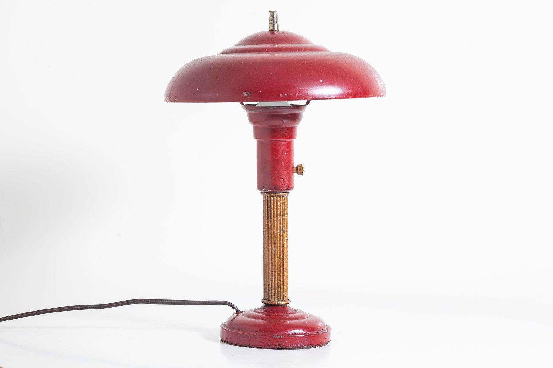 Vintage Tischlampe, 1930er