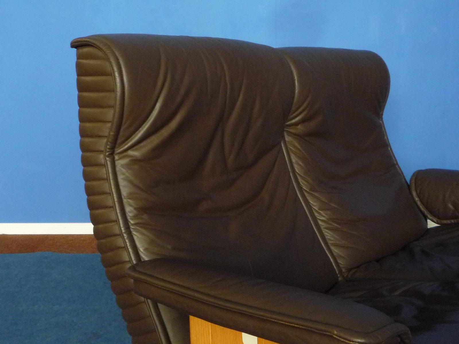 follow me leder sofa von otto zapf f r knoll international 1970er bei pamono kaufen. Black Bedroom Furniture Sets. Home Design Ideas