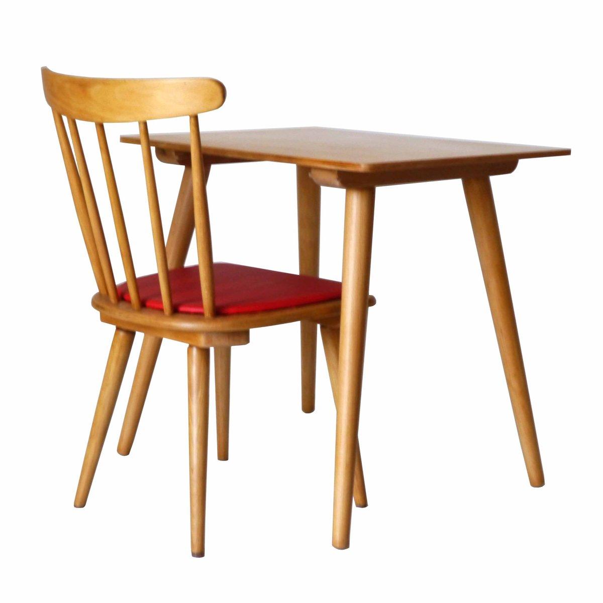 kinder schreibtisch stuhl 1960er bei pamono kaufen. Black Bedroom Furniture Sets. Home Design Ideas