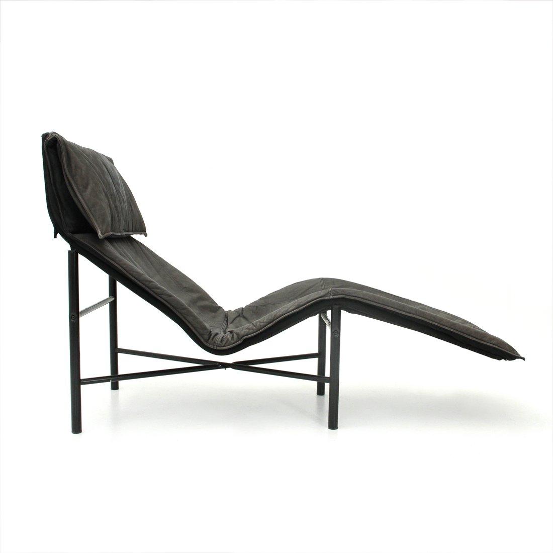 Skye Leder Chaise Longue von Tord Björklund für Ikea, 1970er bei ...