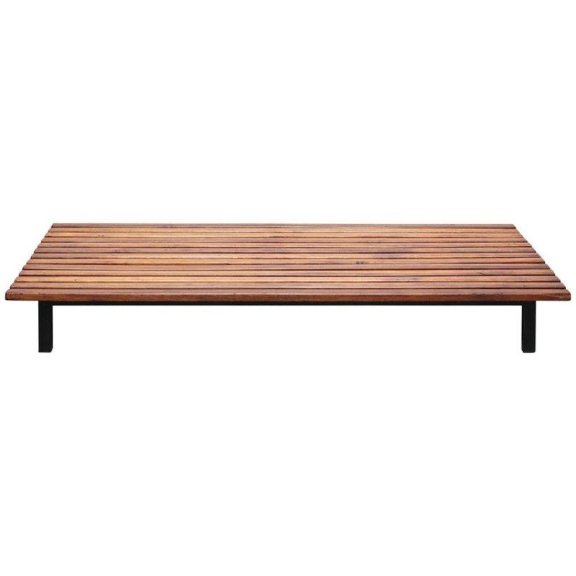 banc cansado par charlotte perriand pour steph simon en vente sur pamono. Black Bedroom Furniture Sets. Home Design Ideas