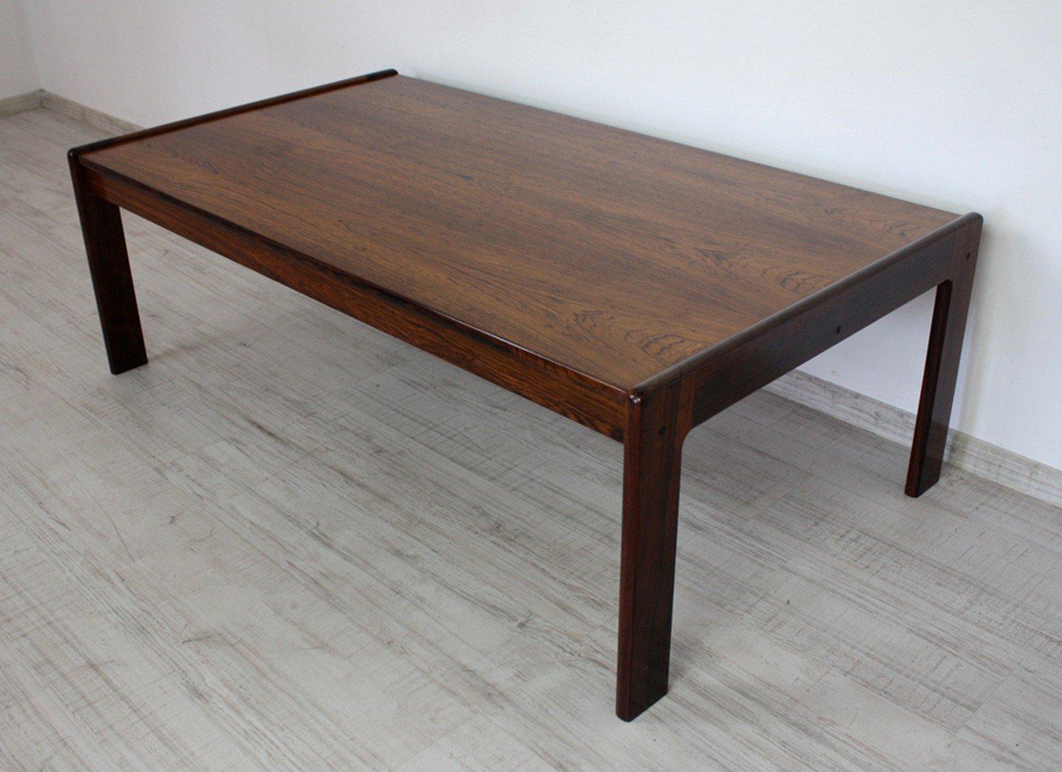 table basse en palissandre par kai kristiansen danemark 1960s en vente sur pamono. Black Bedroom Furniture Sets. Home Design Ideas