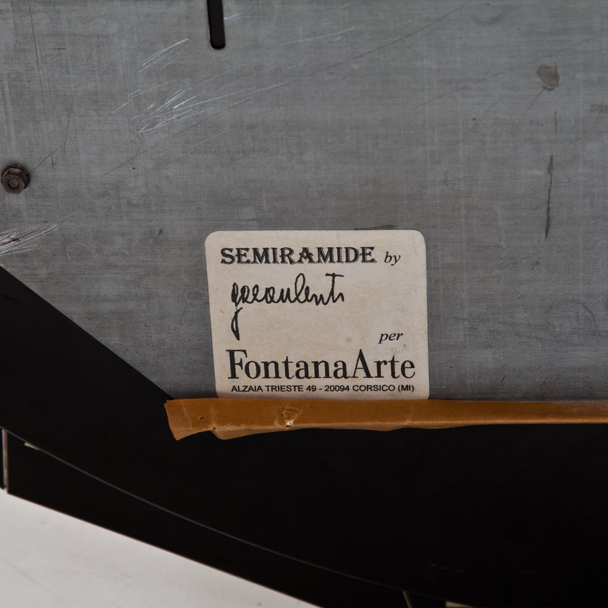 Mid-Century Semiramide Spiegel von Gae Aulenti für Fontana Arte bei ...