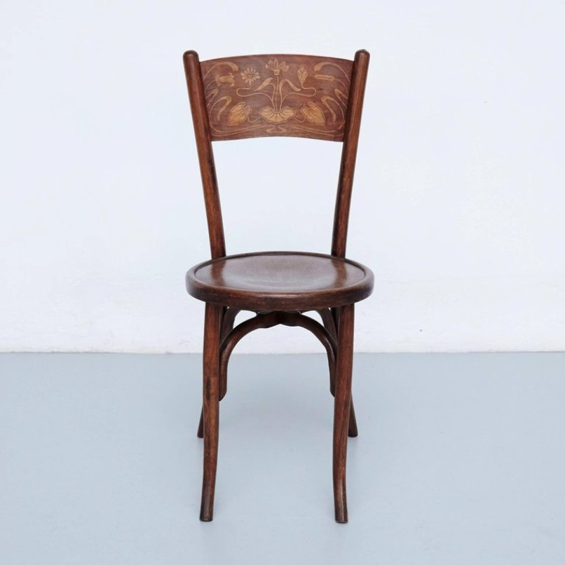 Holiday Sale - Antique Bentwood Chairs From Codina, 1900s, Set Of 2 For Sale At Pamono