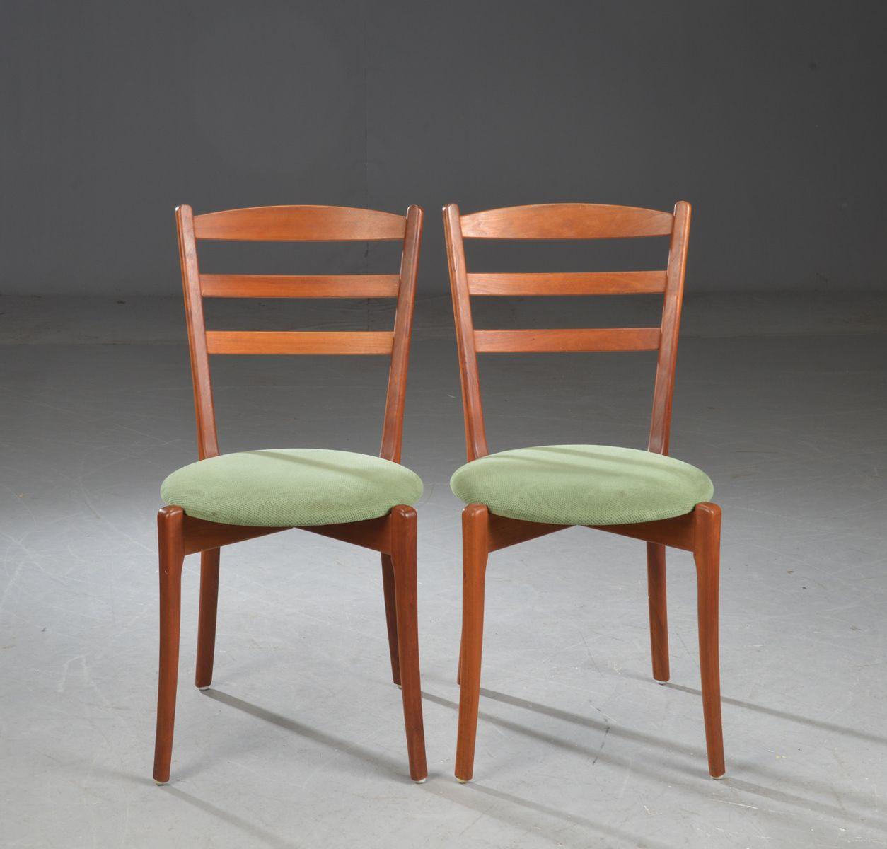 d nischer esstisch 6 st hle von haslev m belsnedkeri 1970er bei pamono kaufen. Black Bedroom Furniture Sets. Home Design Ideas