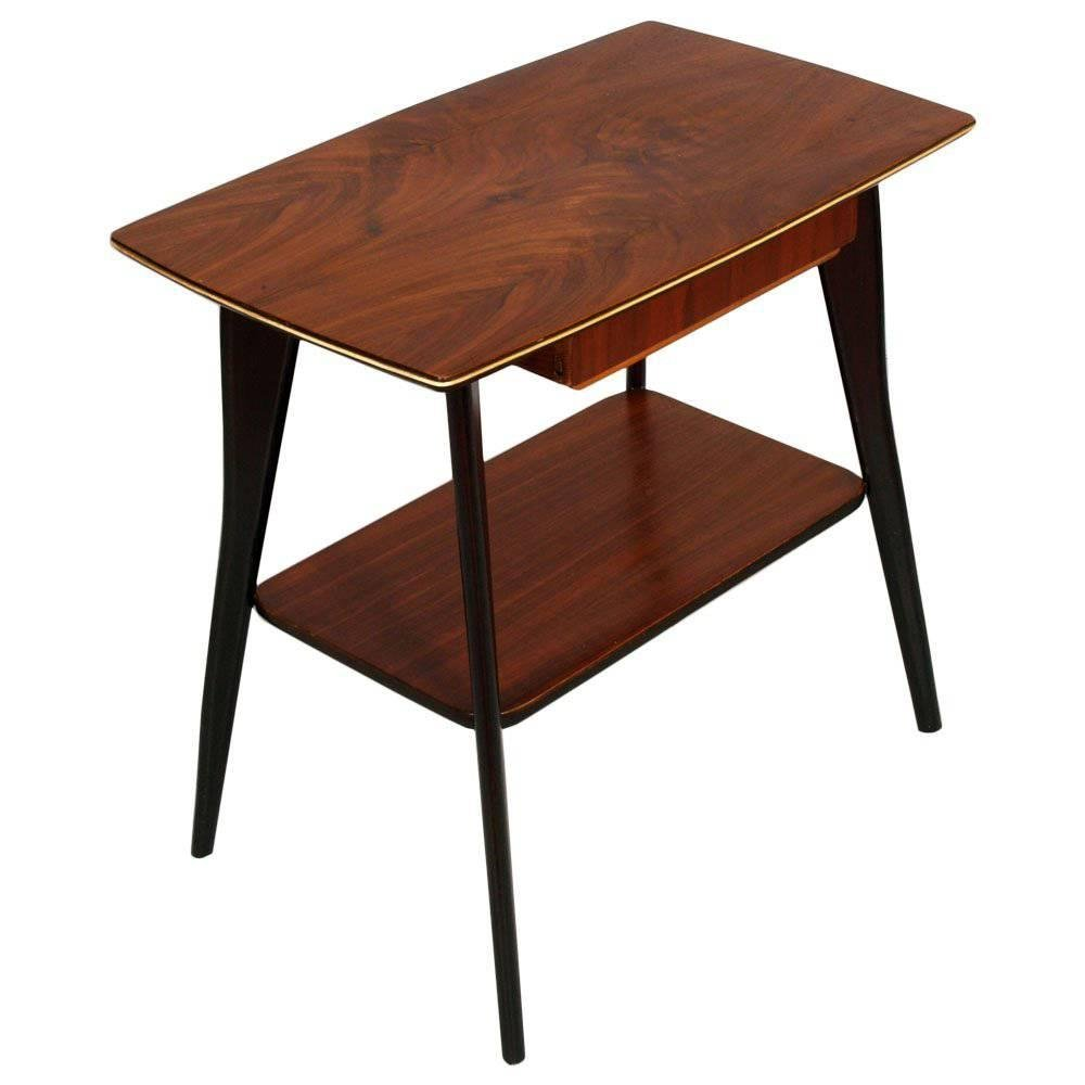mid century modern small console table 1950s for sale at. Black Bedroom Furniture Sets. Home Design Ideas
