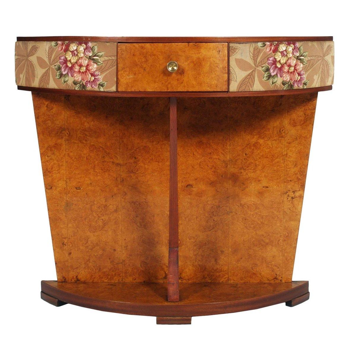 coiffeuse avec miroir art deco en broussin italie en. Black Bedroom Furniture Sets. Home Design Ideas