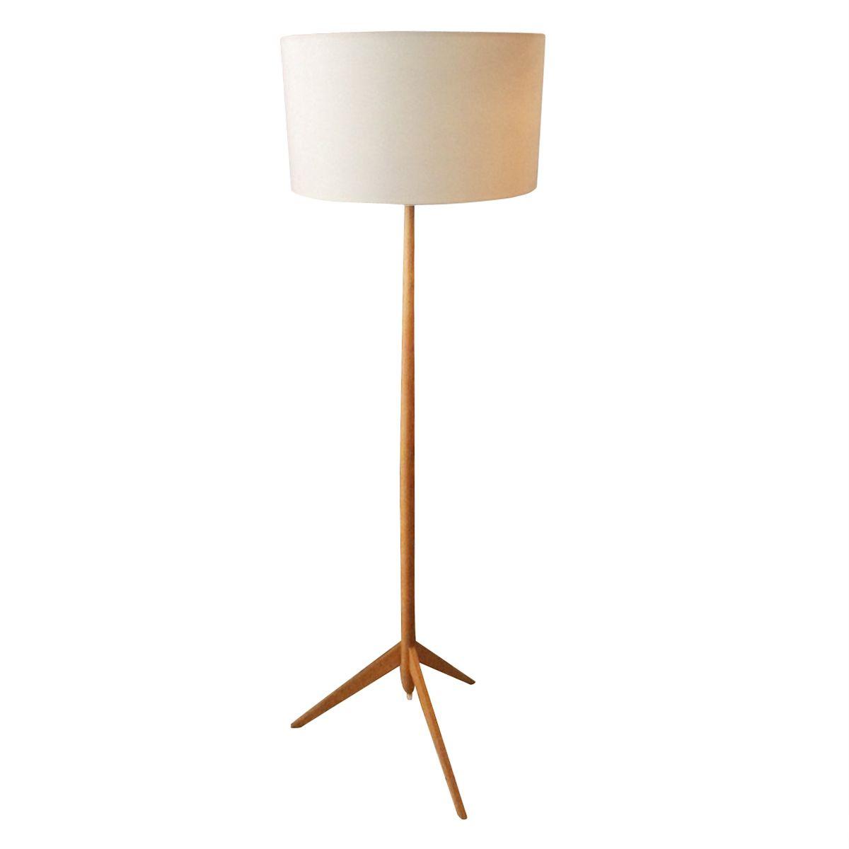 Einzigartig Dreibein Stehlampe Sammlung Von Dänische Stehlampe, 1960er