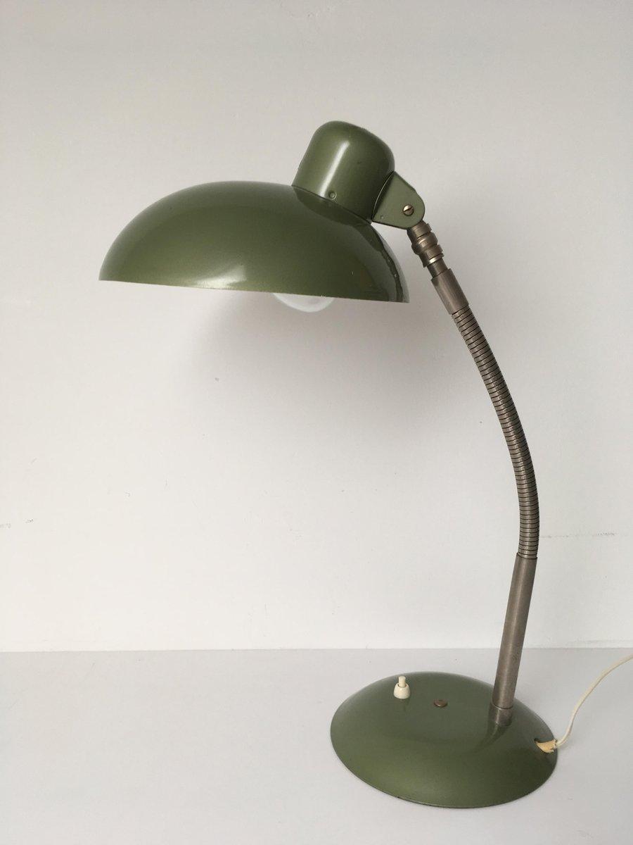 Lampe de bureau verte industrielle bauhaus de sis 1950s en vente sur pamono - Lampe bureau industrielle ...