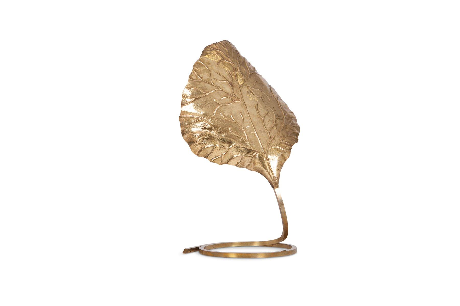 Modell Rabarbaro Messing Tischlampe von Carlo Giorgi für Bottega Gadda...