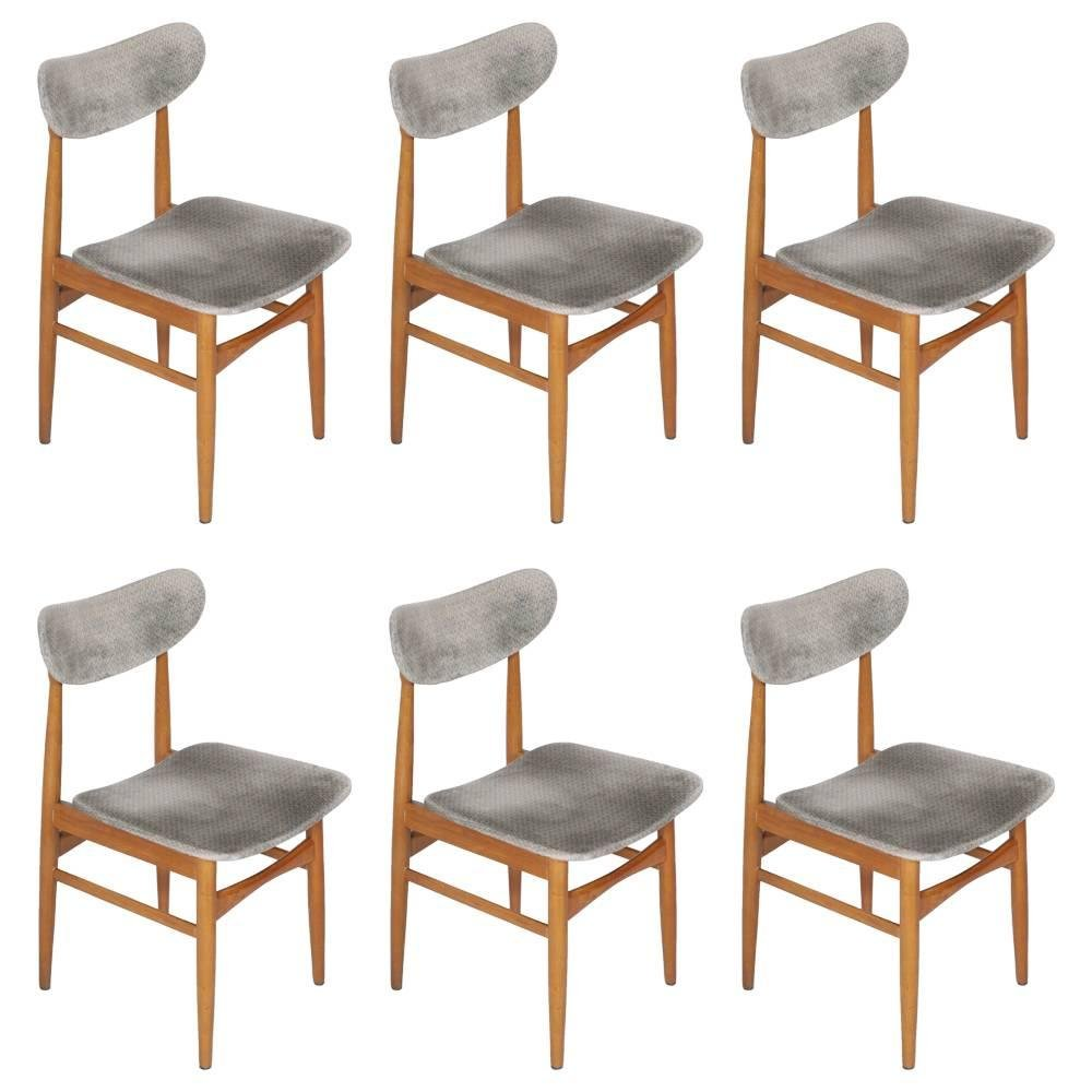d nische st hle 1950er 6er set bei pamono kaufen. Black Bedroom Furniture Sets. Home Design Ideas
