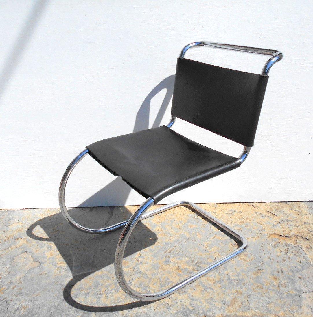 mr10 stuhl von mies van der rohe f r knoll 1980er bei pamono kaufen. Black Bedroom Furniture Sets. Home Design Ideas
