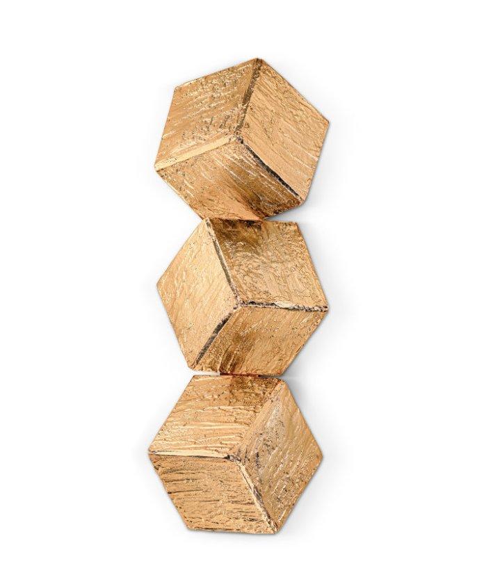 Große Cubic Sconces Wandlampe von Covet Paris