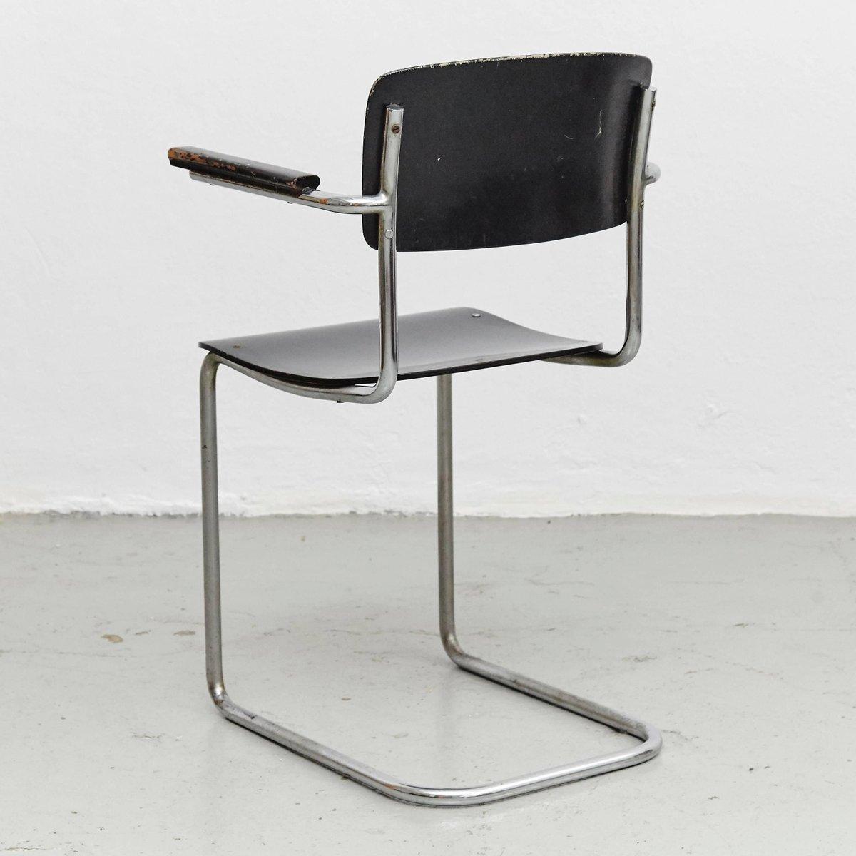 vintage bauhaus stuhl 1930er bei pamono kaufen. Black Bedroom Furniture Sets. Home Design Ideas