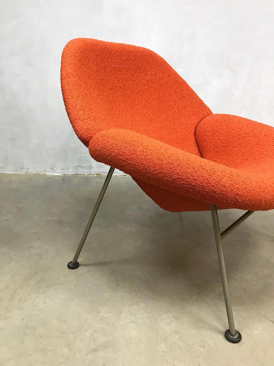 fauteuil f555 vintage par pierre paulin pour artifort en vente sur pamono. Black Bedroom Furniture Sets. Home Design Ideas