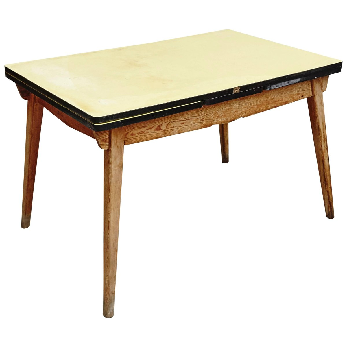 Moderner ausziehbarer Esstisch, 1950er