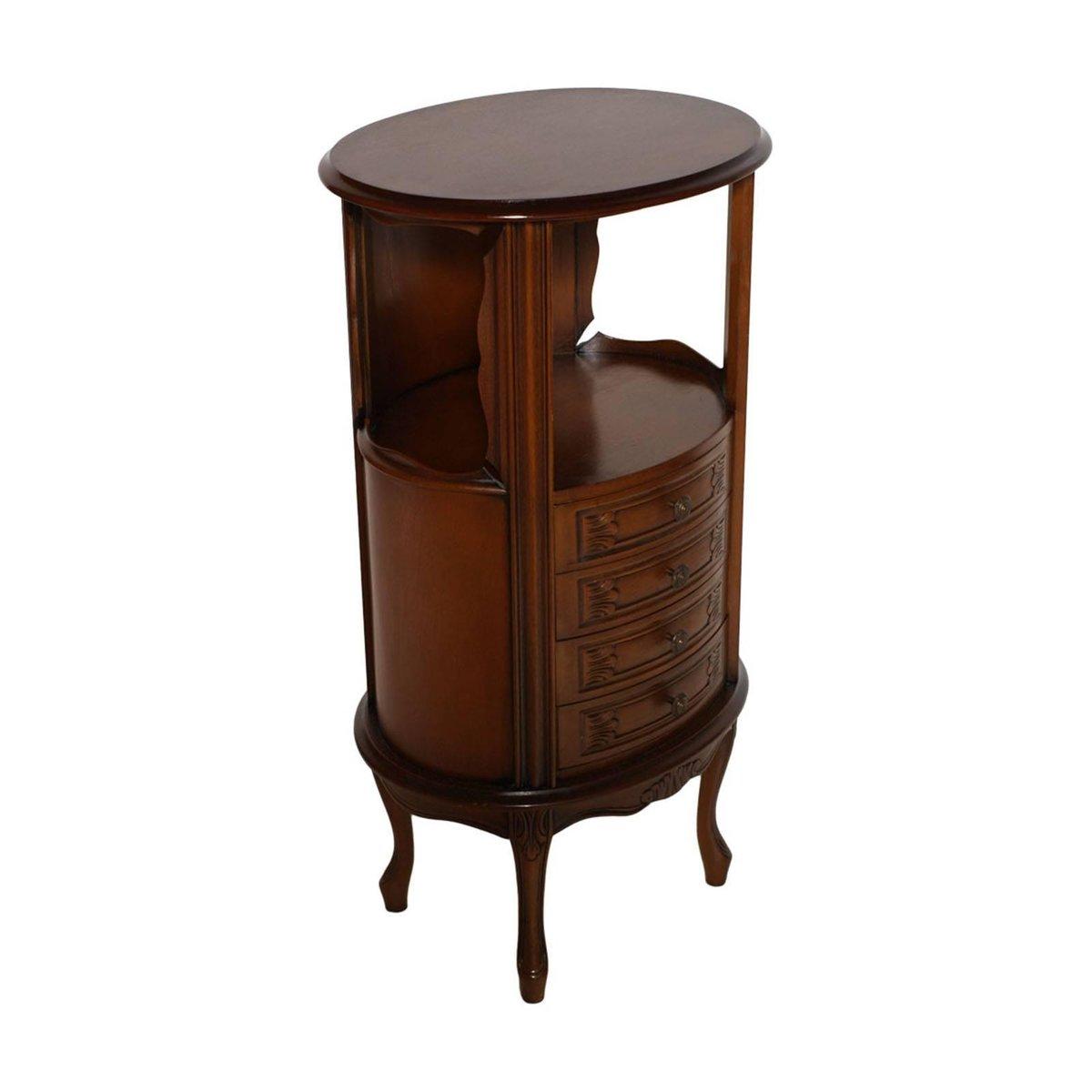 Jugendstil Nachttisch, 1920er