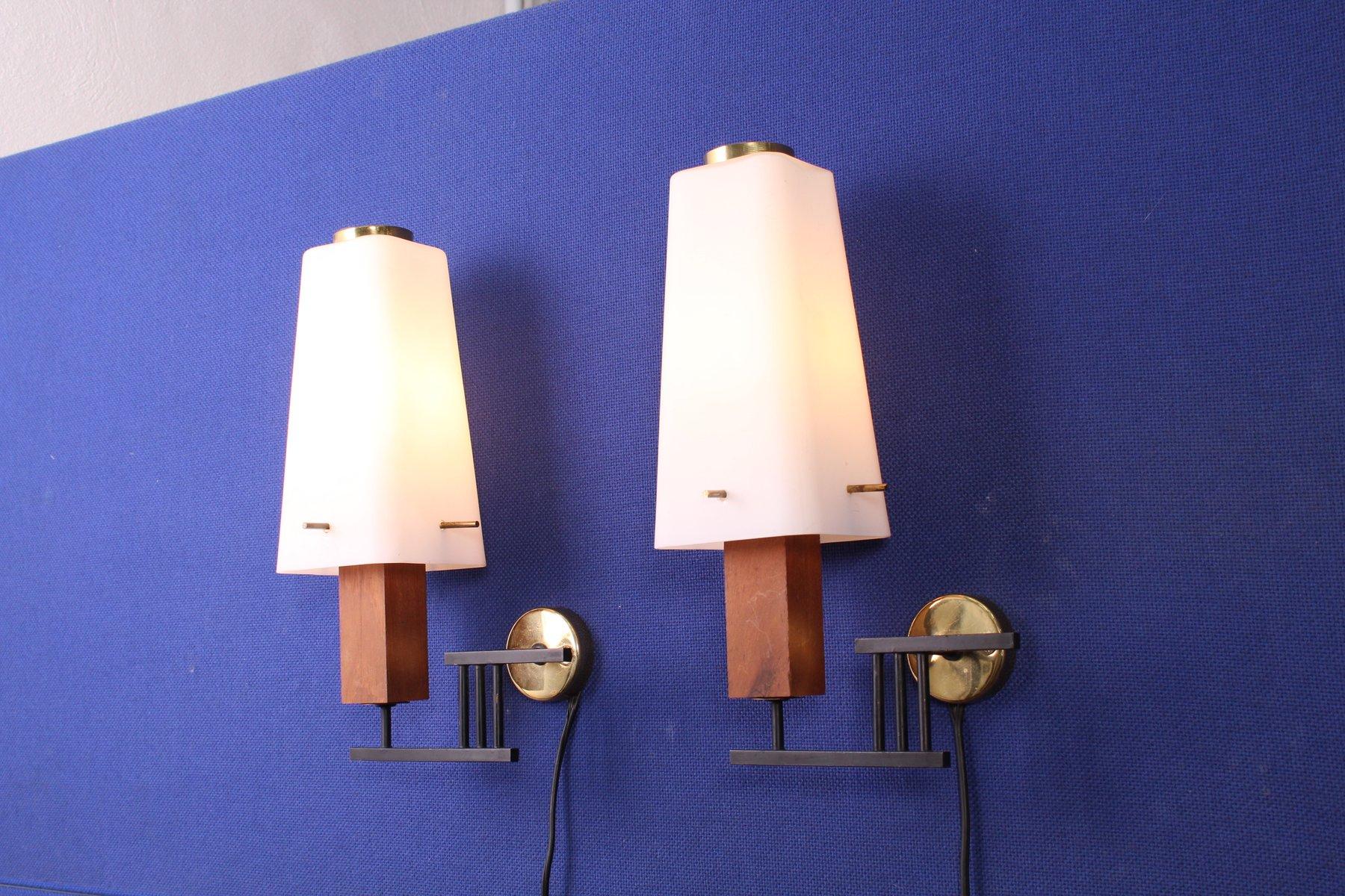 Vintage Wandlampen von Stilux Milano, 2er Set