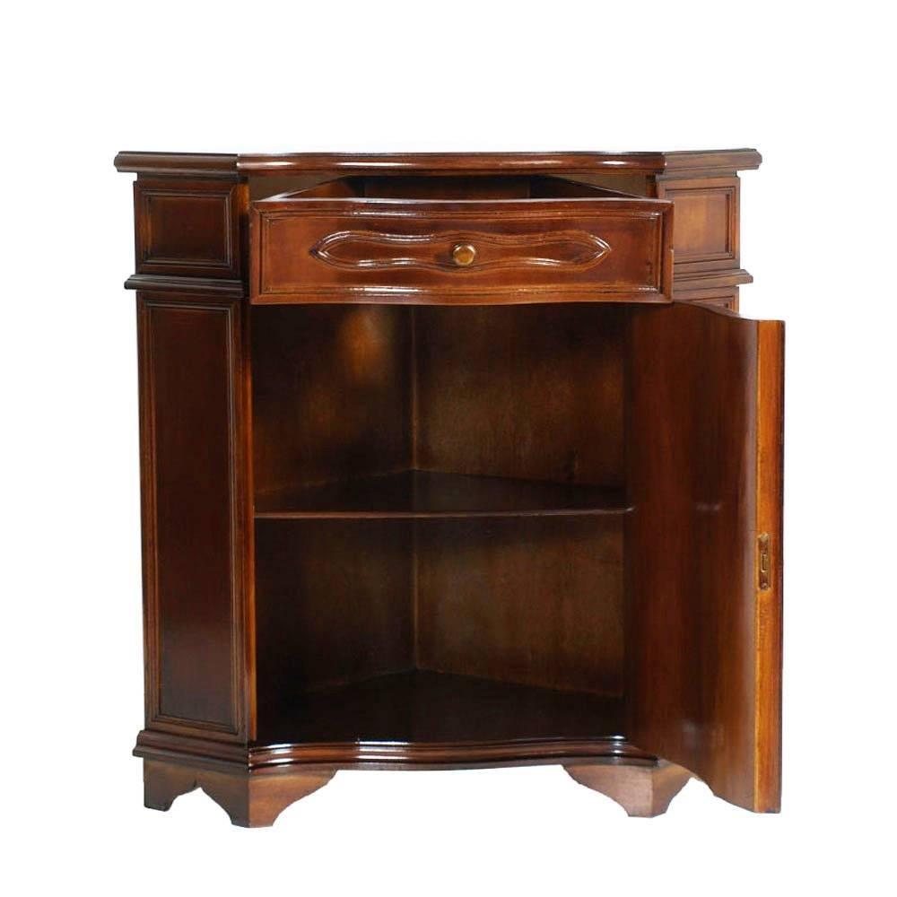 Credenza ad angolo in legno di noce, Italia, anni \'30 in vendita su ...