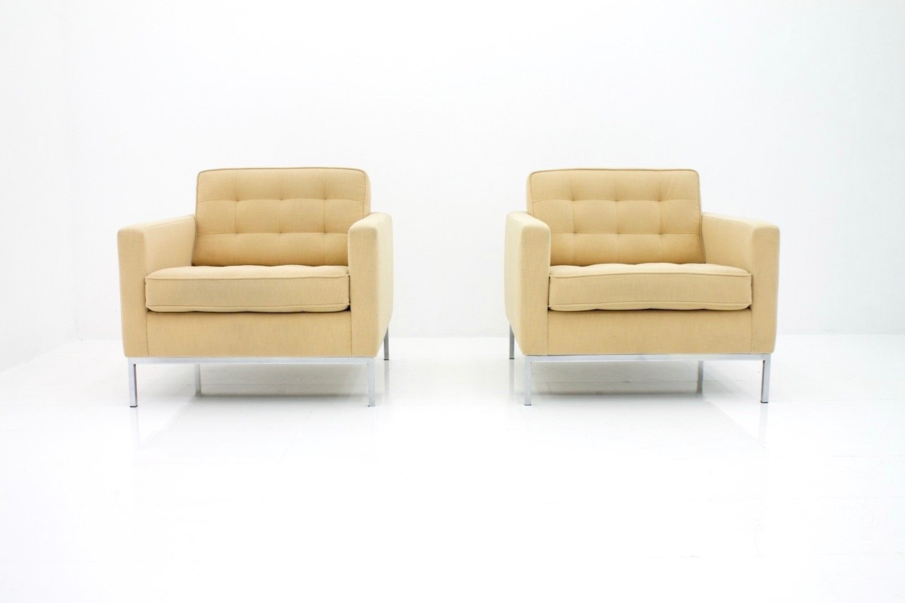 Sessel von Florence Knoll für Knoll International, 1960er, 2er Set