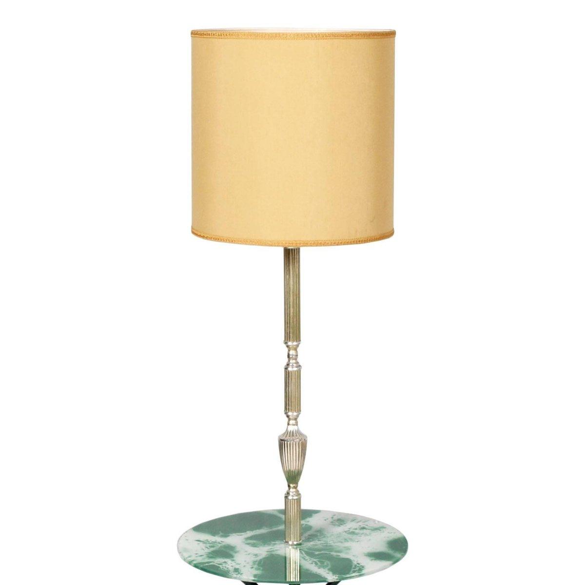 Unglaublich Dreibein Stehlampe Referenz Von Art Deco Mit Ablage